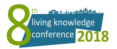 Logo Living Knowledge Konference 18